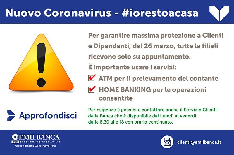 Banner coronavirus mobile