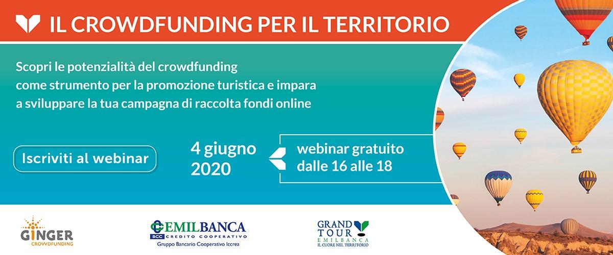 Webinar crowdfunding territorio mobile