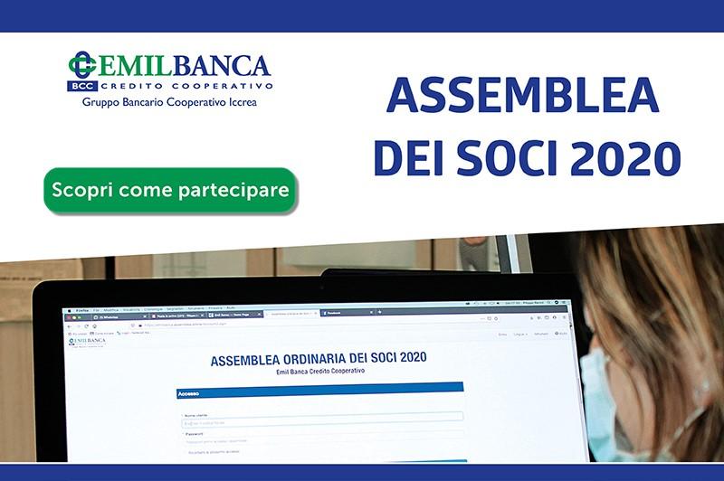 Banner assemblea soci 2020